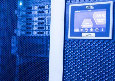 server rack temperature control