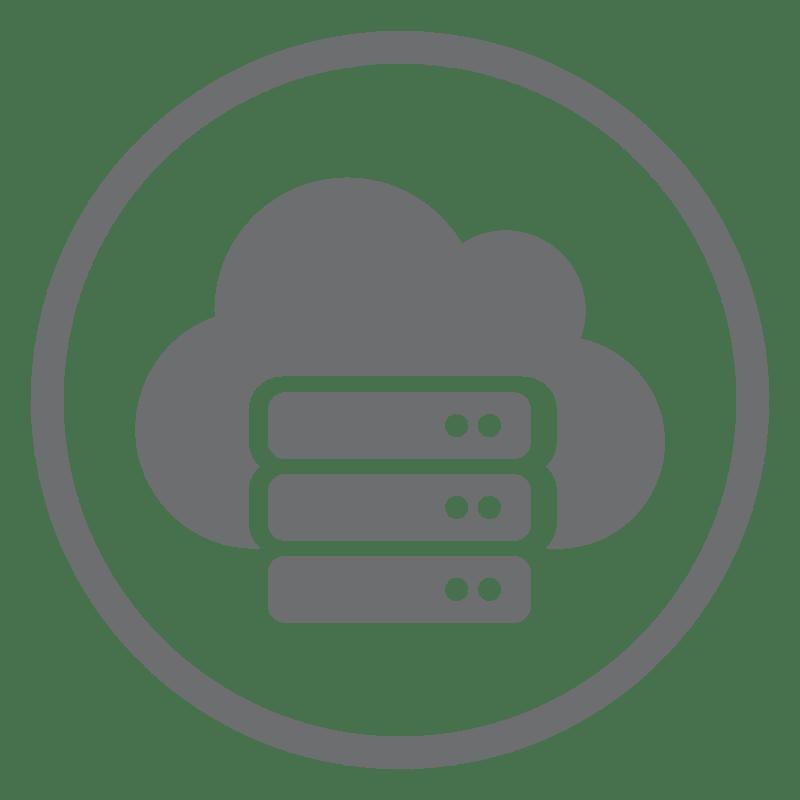 icon Virtual Private Server Web
